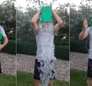 Ice bucket challenge contro la SLA