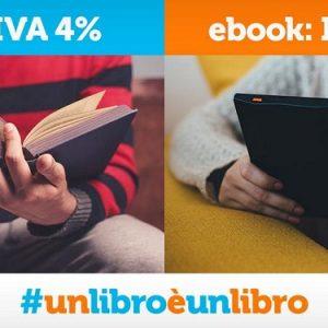 Iva al 4% sugli e-book, perché un libro è un libro