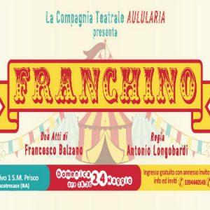 Franchino  di Francesco Balzano all'Auditorium S. M. Prisco