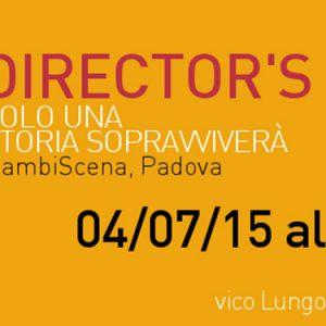 Improteatro Festival, Director's Cut