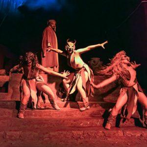 Dante nell'Inferno di Napoli al Museo del Sottosuolo di Napoli
