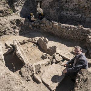 Pompei, rinvenuta tomba sannitica