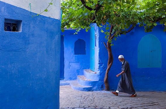 Case Blu Marocco : Chefchaouen la città azzurra del marocco eroica fenice