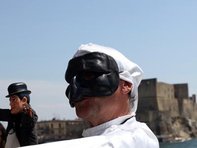 La lingua napoletana a 'A Festa d''a lengua nosta art