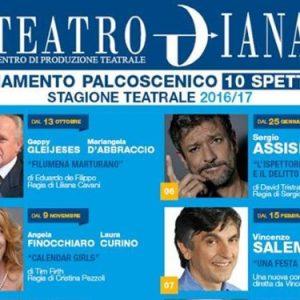 Teatro Diana, spettacoli della stagione 2016/2017