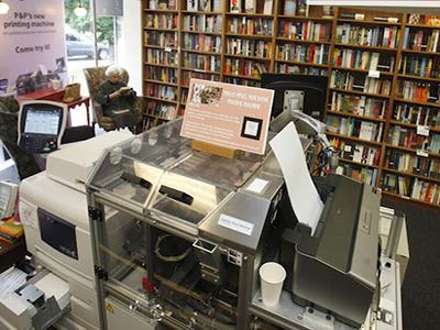 Espresso Book Machine: da pdf a tascabile art