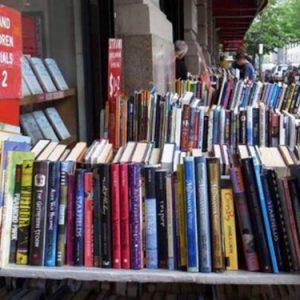 New York, libri usati al metro alla Strand
