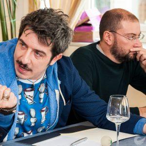 Babysitter, Mandelli e Ruffini all'Hotel Vesuvio
