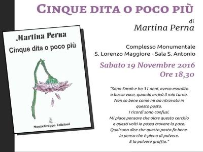 """Martina Perna, intervista all'autrice di """"Cinque dita o poco più"""""""
