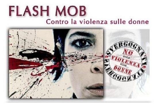 Napoli, flash mob contro la violenza sulle donne