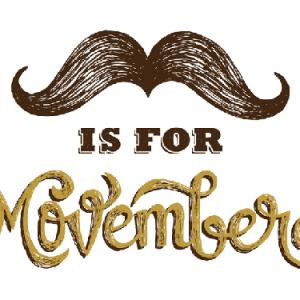 Movember, un paio di baffi per la ricerca