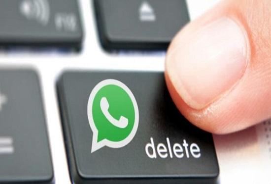 "Whatsapp , opzione ""revoke"" per i messaggi già inviati"
