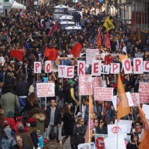Napoli, UnPopoloinCammino contro la camorra