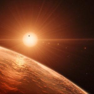 evidenza nuovo sistema solare