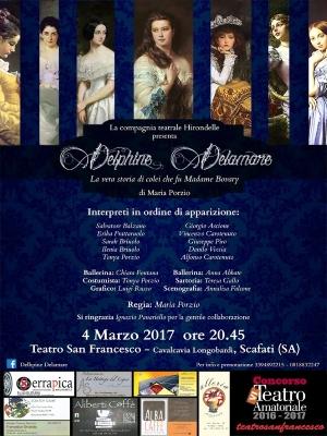 Delphine Delamare, il debutto al Teatro San Francesco di Scafati