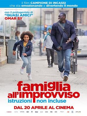 Famiglia all'improvviso, l'ultima interpretazione dell'attore Omar Sy