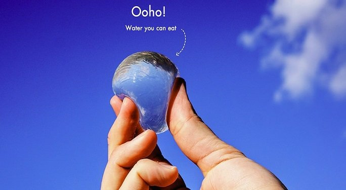 Ooho: la bottiglia del futuro è un blob