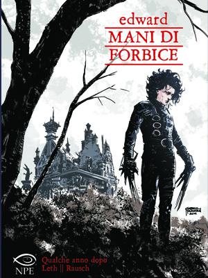 Edward mani di forbice diventa una graphic novel NPE