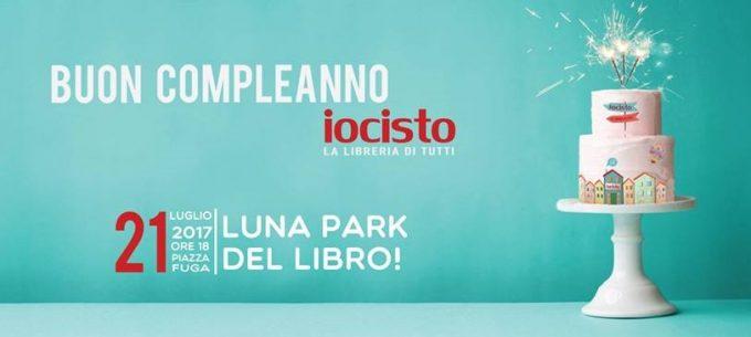 Lunapark del libro: Iocisto festeggia il suo terzo compleanno