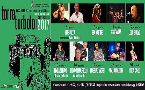 Rassegna Torre Turbolo suoni e scene 2017