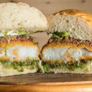 Verdebaccalà: il panino col baccalà fritto da Cipajò Pub & Girarrosto