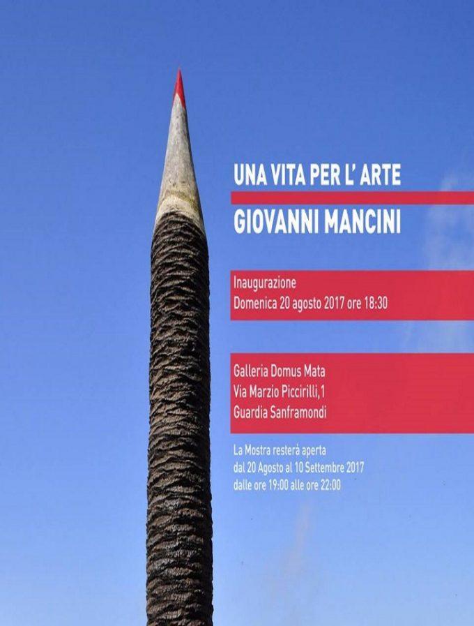"""Giovanni Mancini: """"Una vita per l'arte"""", retrospettiva a Guardia Sanframondi"""