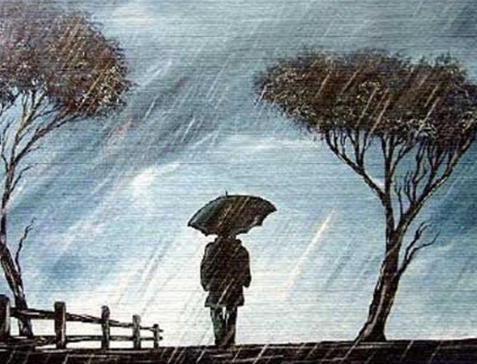I due volti della pioggia
