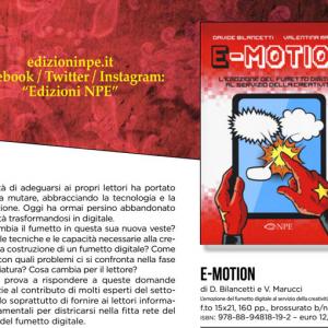 E-motion della NPE, la tradizione del fumetto tra cartaceo e digitale