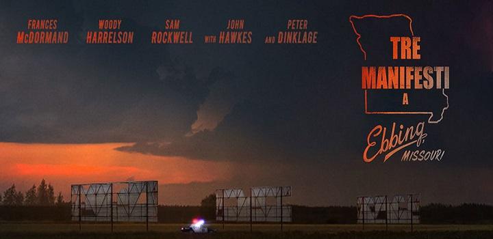 Tre manifesti a Ebbing, Missouri un film di Martin McDonagh