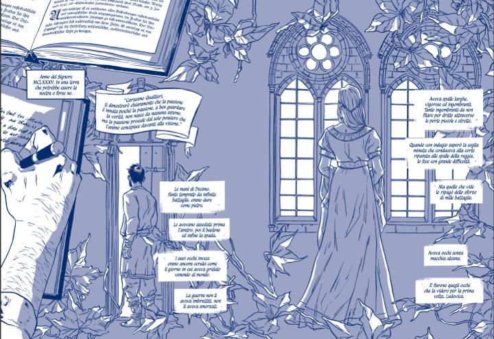 La giusta mezura, una graphic novel d'amor cortese e bisogni infiniti