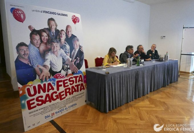 "Sbarca al cinema ""Una festa esagerata"", ultimo film di Vincenzo Salemme"