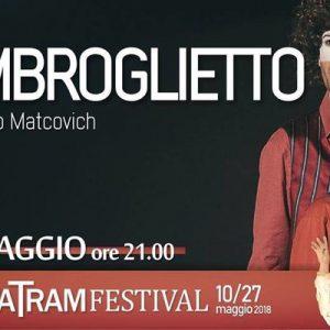 L'imbroglietto di Niccolò Matcovich al TRAM: demolire la mercificazione del teatro
