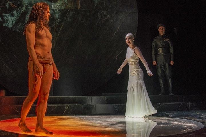 La Salomè di Luca De Fusco al Pompeii Theatrum Mundi