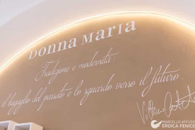 Osteria Donna Maria: lo chef Vittorio Carotenuto presenta il nuovo menu