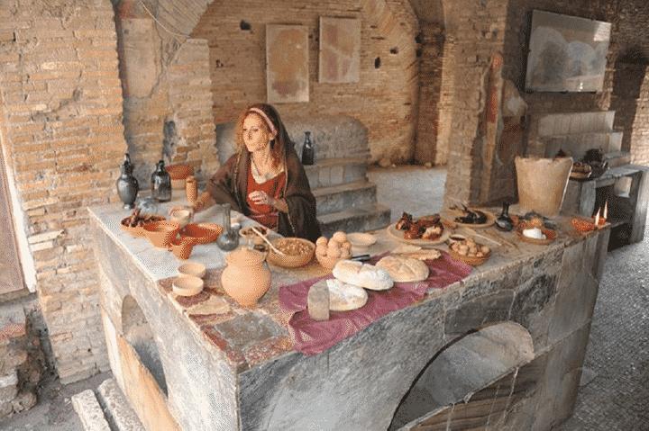 Associazione culturale Suadela, buon appetito con i Romani a Ostia antica!