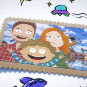 Mamma Uovo, il libro promosso dall'ospedale Pascale diventa un film d'animazione