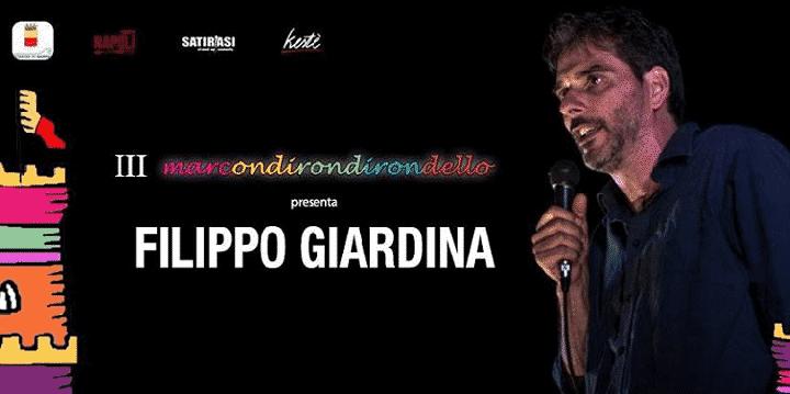 Filippo Giardina al Maschio Angioino il 22 luglio