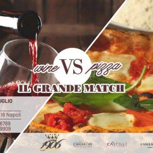 La pizzeria Imperatore presenta Wine Vs Pizza - Il grande match!