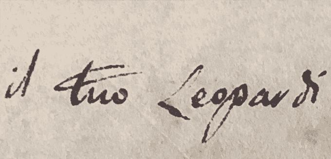 Giacomo Leopardi alla Biblioteca Nazionale di Napoli