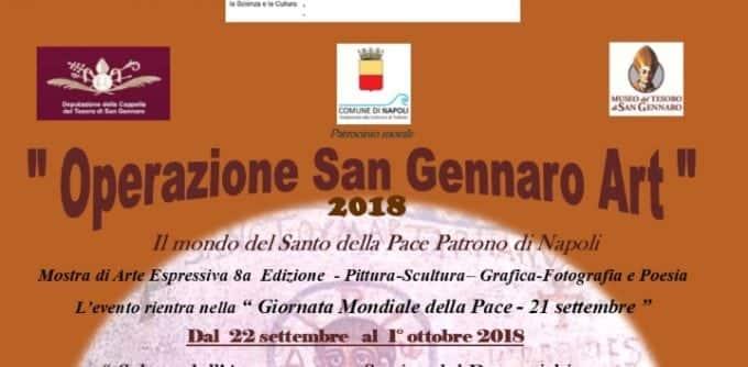 """""""Operazione S. Gennaro Art"""" edizione 2018, arte e musica a via Duomo"""