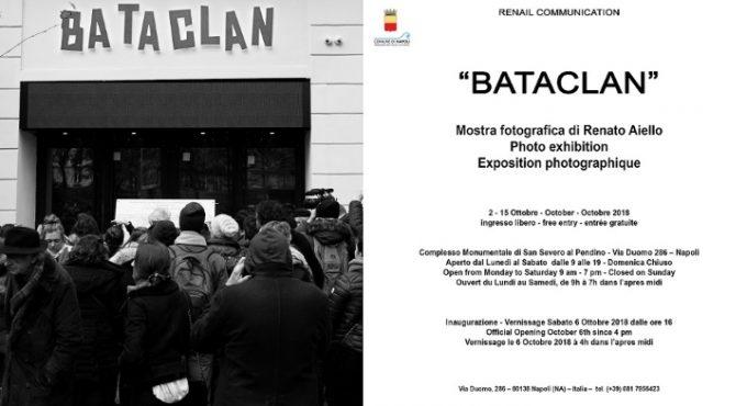 """""""Bataclan"""", le foto di Renato Aiello in mostra dal 2 ottobre al Complesso Monumentale San Severo al Pendino"""