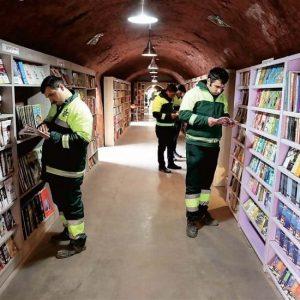 Ankara: la biblioteca dei libri abbandonati