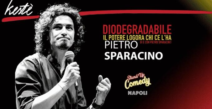 """Pietro Sparacino e """"Diodegradabile"""", l'intervista"""