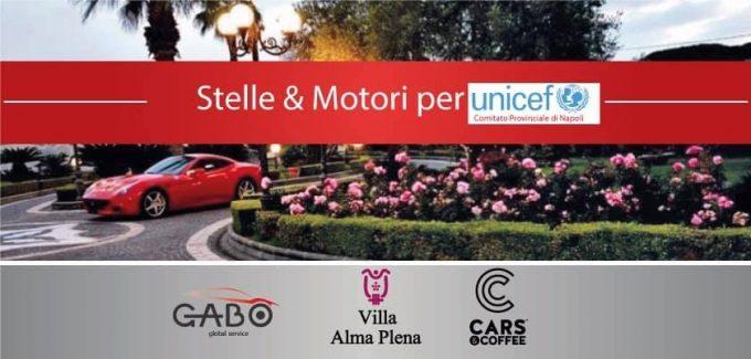 """Villa Alma Plena presenta """"Stelle & Motori per Unicef"""""""