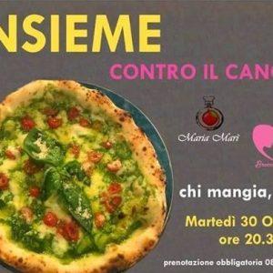 """""""CHI MANGIA DONA"""", da Maria Marì la pizza è solidale"""