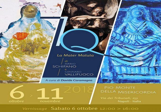 7Q - La Mater Matuta di Mario Schifano e Gennaro Vallifuoco: al Pio Monte della Misericordia