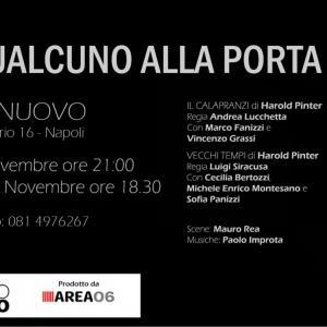 Harold Pinter, l'assurdo al Teatro Nuovo di Napoli