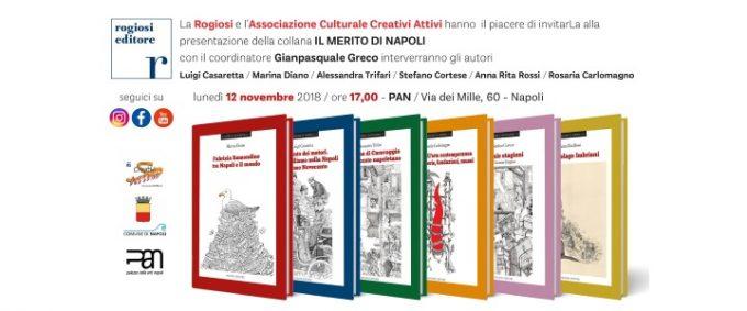 Il Merito di Napoli, presentazione Collana di Libri