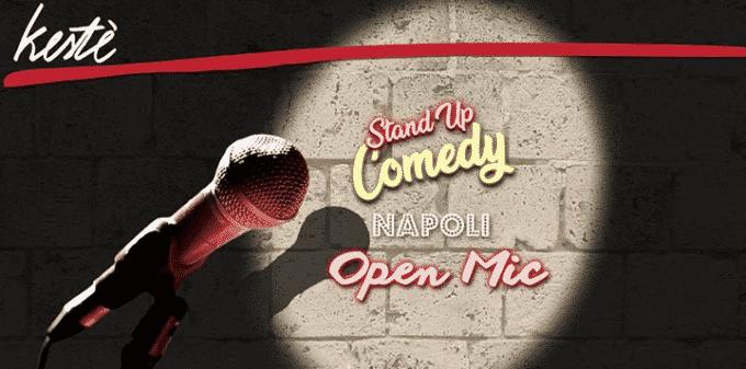 il Kestè aperto a tutti gli stand up comedian per l'Open-Mic