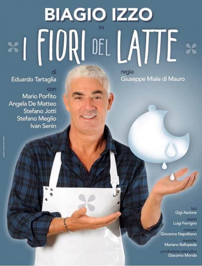 I fiori del latte: Biagio Izzo porta la terra dei fuochi al teatro Cilea